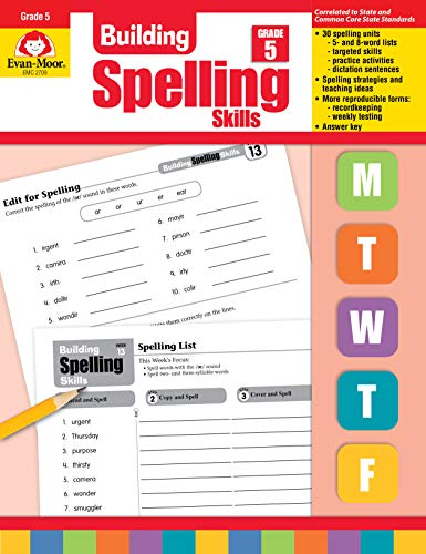 Compare Textbook Prices for Building Spelling Skills: Grade 5 Teacher ed. Edition ISBN 8601420681293 by Evan Moor