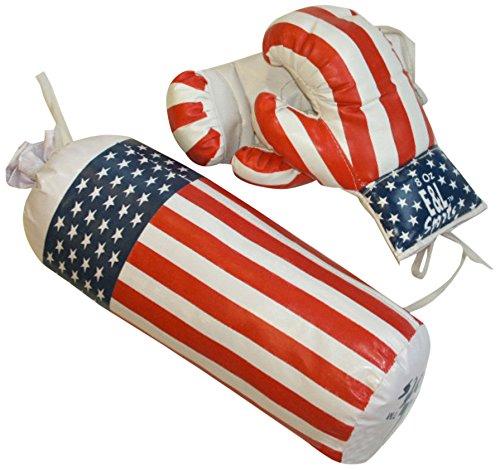 New Plast BX1701 - Boxing Set con Guantoni e Sacco
