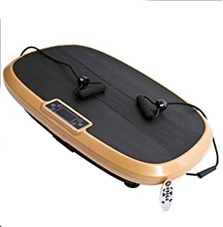 QBWZ 3D Fitness Vibration Platform - Máquina De Vibración para Todo El Cuerpo Crazy Fit Vibration Home Training Equipment para El Hogar, Fitness, Pérdida De Peso, Modelado