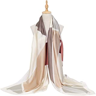 Bellonesc Silk Scarf 100% silk Long Lightweight Sunscreen Shawls for Women…