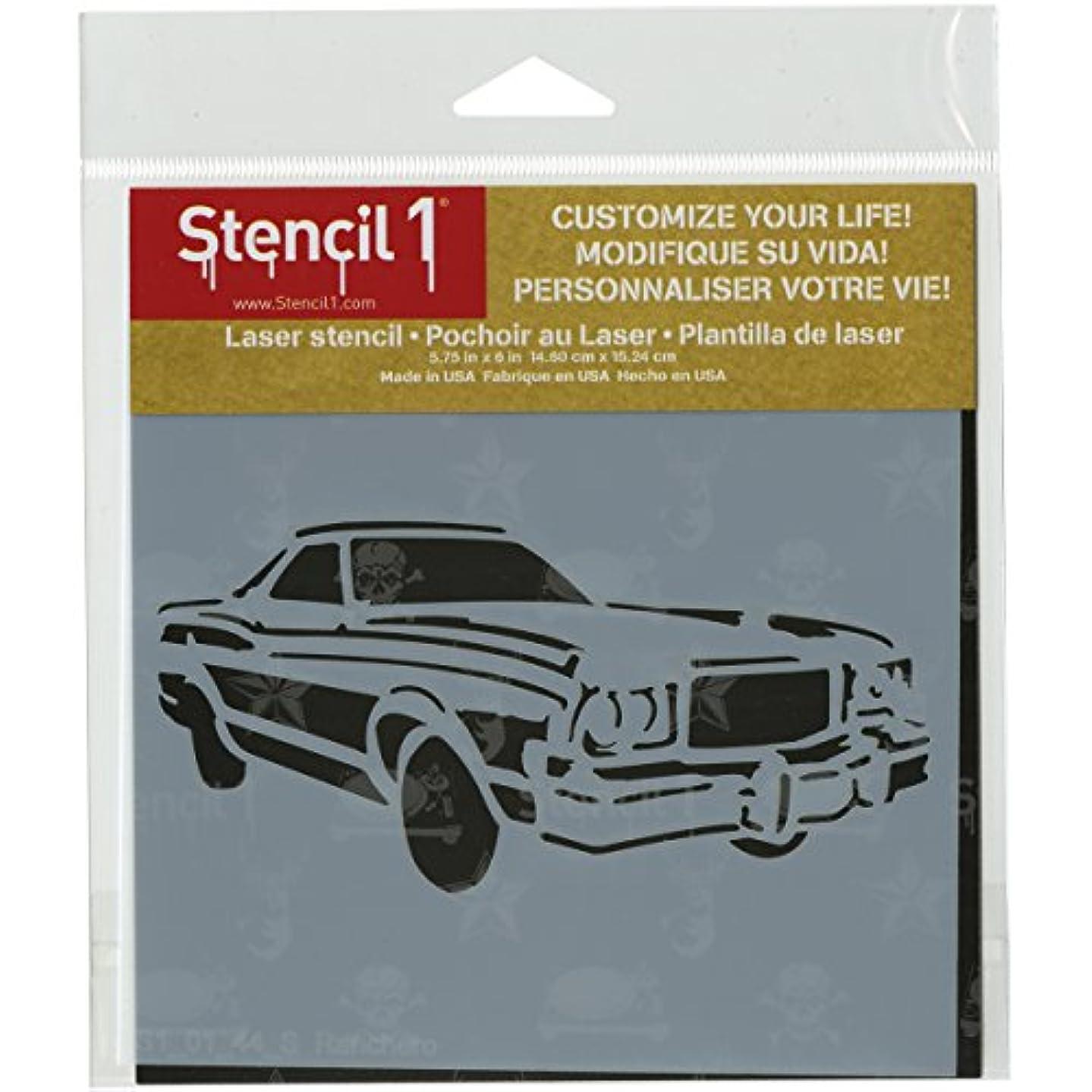 Stencil1 Ranchero Stencil, 6 x 6