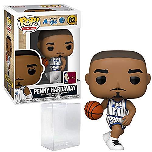 Penny Hardaway Orlando Magic Home Jersey #82 Pop Sports NBA Legends Action Figure (Bundled with Ecotek Pop Protector to Protect Display Box)