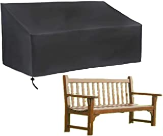 skyfiree 4 Seater Patio Bench Cover Outdoor Garden Bench Loveseat Covers Waterproof Lawn Furniture Cover 74x26x35inch Benc...