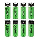 14430 3.2 Volt Rechargeable Solar Battery, Taken 3.2V 450mAh 14430 LiFePo4 Rechargeable Battery for Solar Panel Outdoor Garden Lights (8 Pack)
