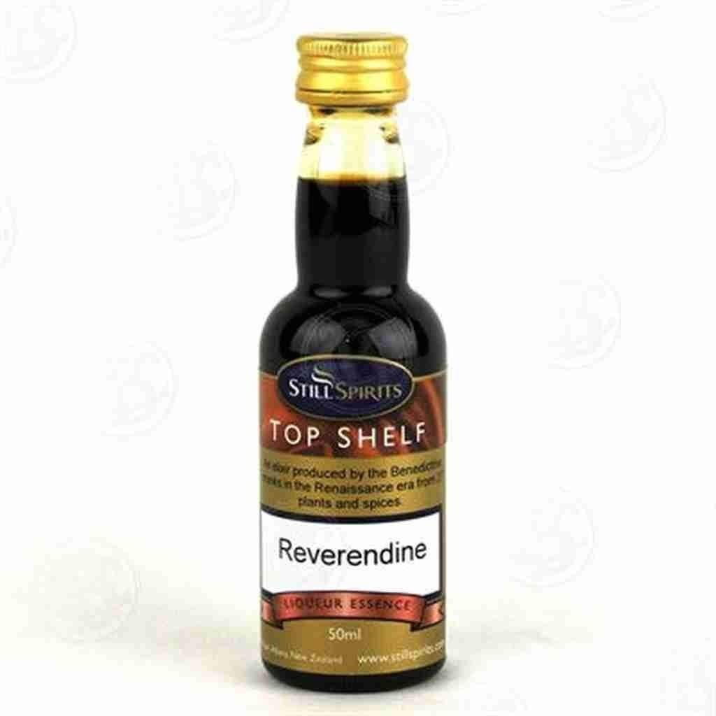 Sales Still Spirits Top Shelf 1.125L Rapid rise Reverendine Flavours Essence
