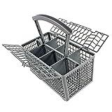 Universal Lave-vaisselle Couverts panier Cage Couvercle et poignée amovible (235 x...