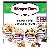 Häagen-Dazs Mini-Cups Multipack Favorite Collection, 80ml
