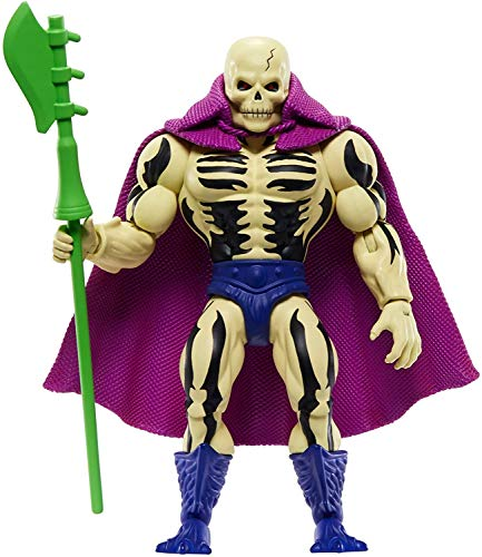 Masters of the Universe Origins Stinkor Action Figure, 5.5-in Collectible Motu Battle Character for Play and Display, Gift for Kids Age 6 Years and Older and Adult Collectors (GYY24)