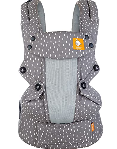 Baby Tula Coast Explore Mesh Baby Carrier, Adjustable Newborn to Toddler Carrier, Ergonomic and Multiple Positions for 7 – 45 pounds (Blink)