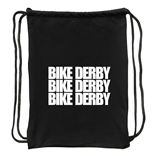 Eddany Bike Derby Three Words Turnbeutel
