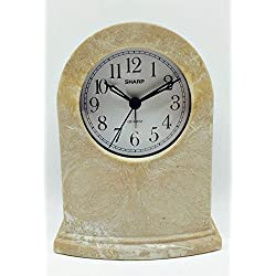 Sharp Quartz Analog Alarm Clock Spch201