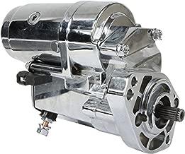 DB Electrical SHD0009-C Chrome Starter For Harley Davidson 1989-Up 1340CC, 12 Volt, CW, 2.0KW /31558-90