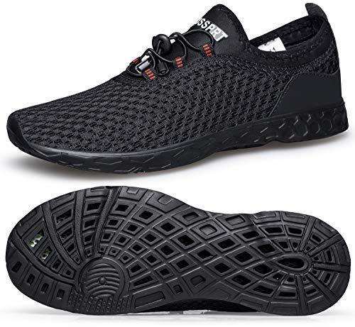 DOUSSPRT Men's Water Shoes Quick Dr…