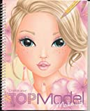 TOPModel_D316921_Album Coloriage Top Model Make-Up Avec Stickers 24x19cm (Apprendre A...