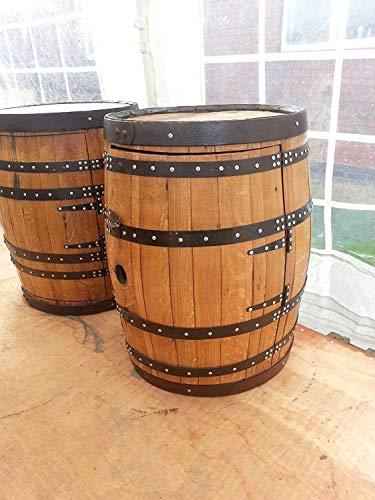 Barriles de whiskey reciclados, roble macizo