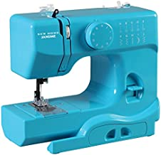 Janome Turbo Teal Basic, Easy-to-Use, 10-Stitch Portable, Compact Sewing Machine with Free Arm only 5 pounds