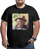 light Saber DUN John Denver Greatest Hits - Camiseta de manga corta para hombre, talla grande, cintura grande, alegre intelectual