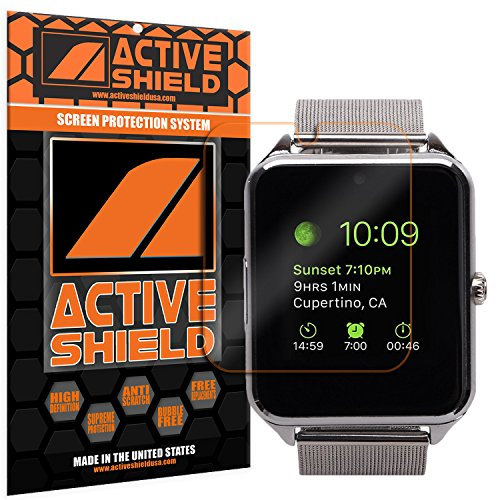 MSRM Smart Watch (3 PACK) Screen Protector Active Shield all weather Premium HD shield with Lifetime Replacement Incentive Program