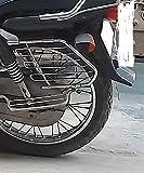 SLD Creation Heavy Bike Side Guard & Saree Guard Chrome for -Hero Super Splendor