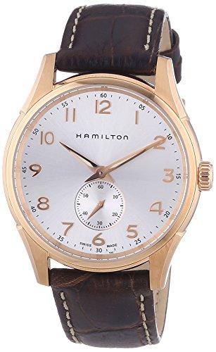 Hamilton XL en Cuir à Quartz analogique Hommes Montre de Poignet h38441553
