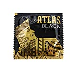Atlas Black Lubricated Condom 100 Pack