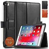 KAVAJ iPad Mini 5 2019 & 4 ケース レザーカバー ロンドン ブラック コニャック ブラウン iPad Mini 5 2019 ブラック 13482