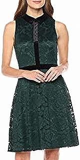 Lark & Ro Women's Dress Emerald Green US Size 14 A-Line Fit & Flare