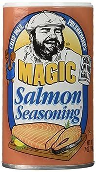 Salmon Magic Seasoning - 2 Pack  7oz each  by Chef Paul Prudhomme s Magic Seasoning Blends