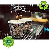 Zoom IMG-2 100 pz bicchieri caffe di