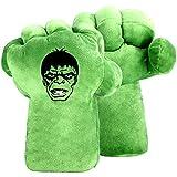 EQUASIS Hulk Hands Gloves for Kids, Hulk Cosplay Costume Accessories, Hulk Toy (1 Pair)