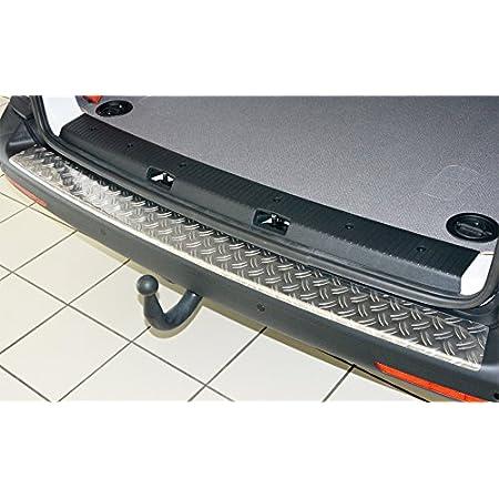 Wgs Alu Riffel Ladekantenschutz Stoßstangenschutz Lackschutz Mit Abkantung Extra Robust 1325 505 Auto