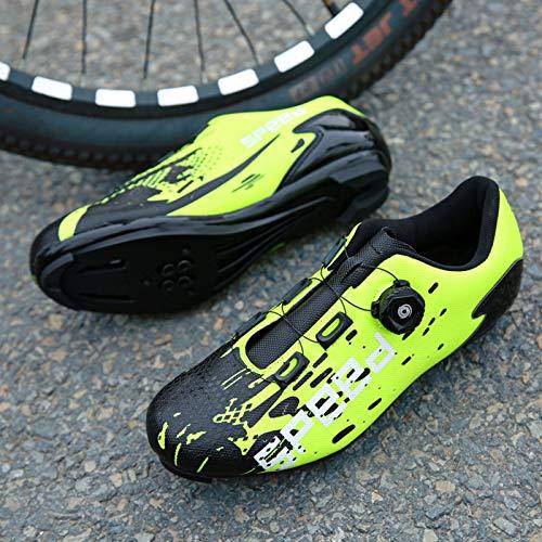 JMAR Zapatillas De Ciclismo, Zapatillas De Ciclismo Antideslizantes - Zapatillas De Bicicleta...