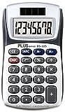 Calculadora de Bolsillo Plus BS-105 LCD Display Luz Solar 8 Digitos