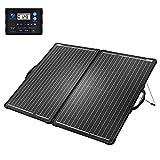 ACOPOWER 120W Mono Lightweight Portable Solar Panel Kit 2Pcs 60W Solar Suitcase, Waterproof 20A...