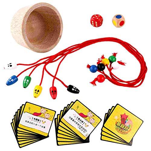 Juego de captura de ratón de madera, juego de escritorio para gatos, juguetes de madera interactivos para gatos, juego de escritorio, juguetes creativos para niños, niñas y niños mayores de 3 años
