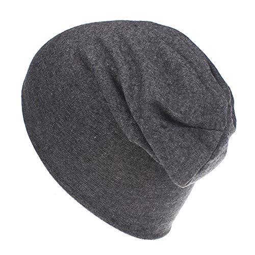 Squarex Bonnet en coton doux pour bébés garçons et filles, bonnet de style Hip-Hop, chapeau