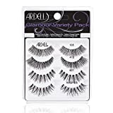Ardell'Best Of' Glamour Variety Pack of False Eyelashes, 4 Pairs of Glamorous Fake Eyelashes