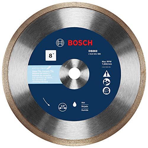 Bosch DB869 8 In. Rapido Premium Continuous Rim Diamond Blade for...
