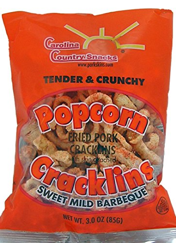 Fantastic Prices! Popcorn Cracklins Sweet & Mild BBQ 12 bags (3oz)