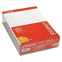 UNV35881 - Colored Perforated Note Pads by Universal