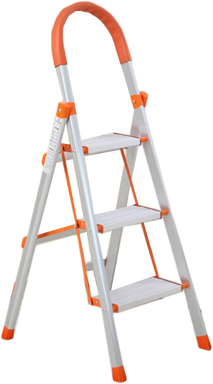Yxsd Step Stool, Widen Aluminum Alloy Folding Ladder Step Stool