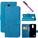 COTDINFOR LG K8 2017 Case Wallet Bookstyle Pu Leather Flip
