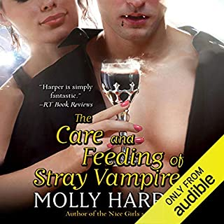 The Care and Feeding of Stray Vampires audiobook cover art