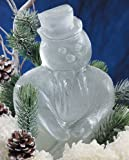 Reusable Snowman Ice Sculpture Mold