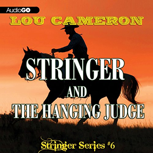 Stringer and the Hanging Judge audiobook cover art