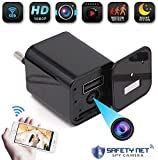 CAM 360 Spy Camera Hidden Wireless Mini WiFi USB Wall Charger Camera