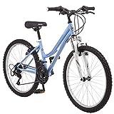 Roadmaster 24' Granite Peak Girls' Mountain Bike, Teal (Teal)