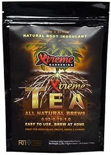 Xtreme Gardening RT8100 8100 Tea Brews 80 gm Packs 10/ct, 80gm