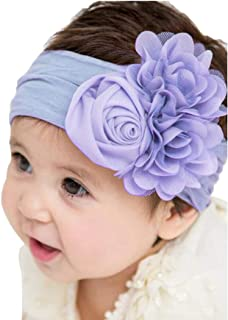 Colorful Childhood Boutique Baby Girls Alligator Clips Grosgrain Ribbon Pinwheel Hair Bows For Toddler 40 Colors