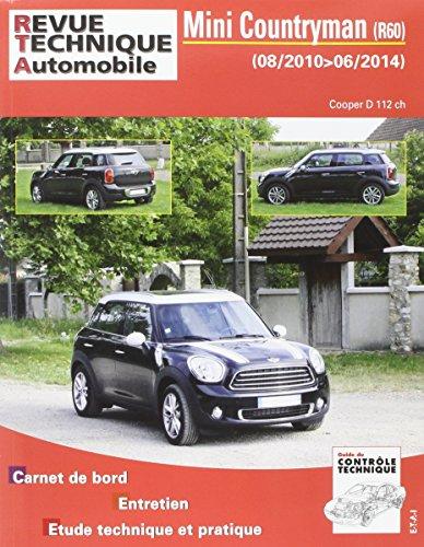 E.T.A.I - Revue Technique Automobile B786.5 MINI II COUNTRYMAN - R60 - 2010 à 2016